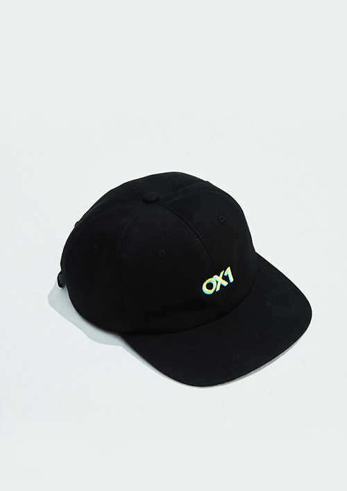 OX1 6-PANEL CAPBLACK