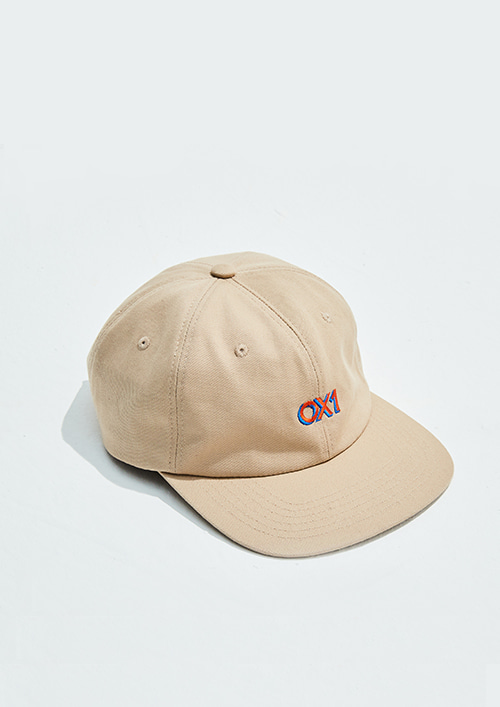 OX1 6-PANEL CAP BEIGE