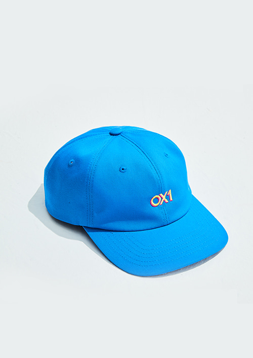 OX1 6-PANEL CAP BLUE