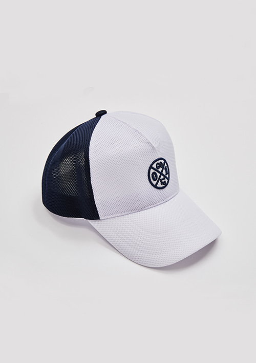 OX1 MESH CAPWHTE / NAVY