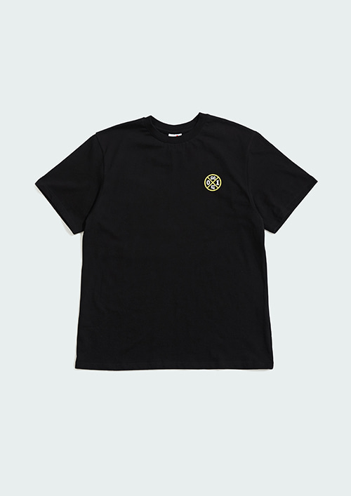 OX1 CIRCLE S/T-SHIRT / BLACK